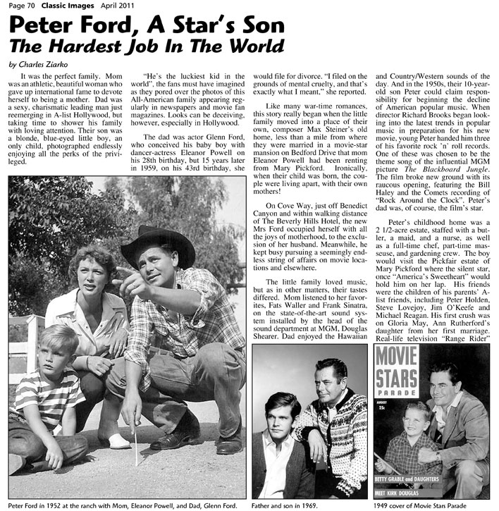 Peter Ford a story