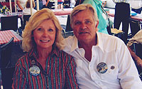 Lynda and Peter Ford at Western Legends Roundup Film Festibal, Kanab, Utah, August, 2007